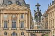 Fountain in Bordeaux's Place de la Bourse
