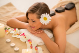 Beautiful Woman In The Spa Centre