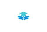 graduation hat education college logo