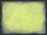 Fundo fumaça amarela em escala matizada