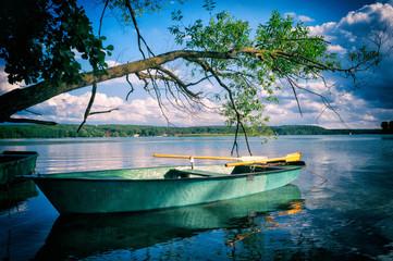Krajobraz Mazury Jezioro Pluszne