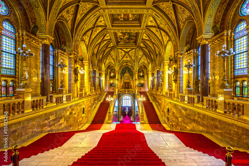 Budapest parliament, Hungary Poster