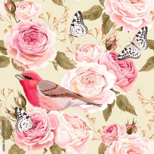 angielskie-roze-i-ptaki-bez-szwu