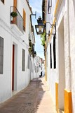 White streets of Cordoba's Old Town, Andalusia, Spain
