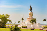 Vasco Nunez de Balboa Monument. Panama City, Republic of Panama,
