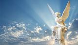 Beautiful angel in heaven - 115045609