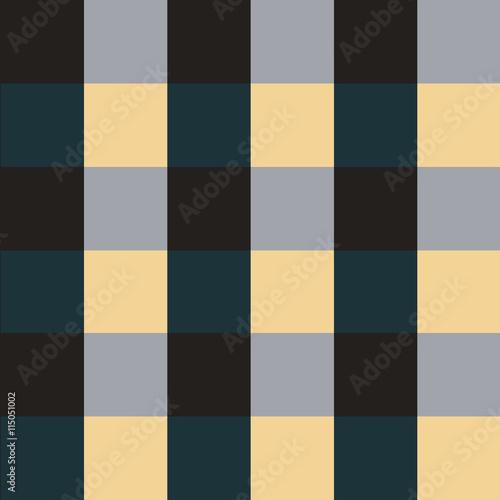 Naklejka Green Violet Chess Board Background Vector Illustration