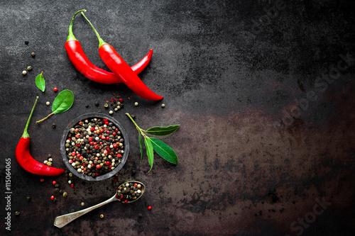 Poster chili pepper