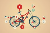mountain bike infographic