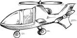 Helicopter Doodle Sketch Vector Illustration Art