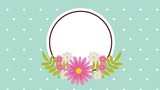 floral decoration design, Video Animation HD1080