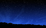 Deep night sky with ...