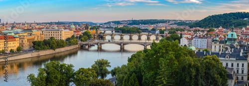 obraz PCV Prague panorama city skyline