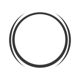 grey circle icon - 115118280