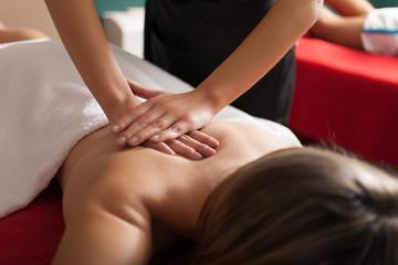 Woman having a massage © Minerva Studio