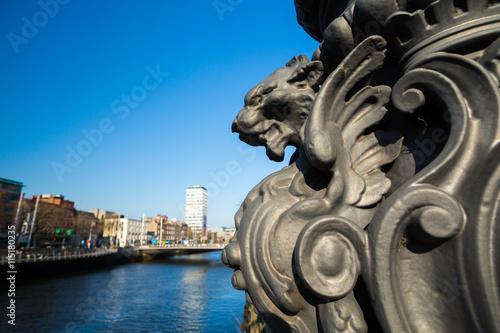 O'Connell Bridge in Dublin City, Ireland  Poster