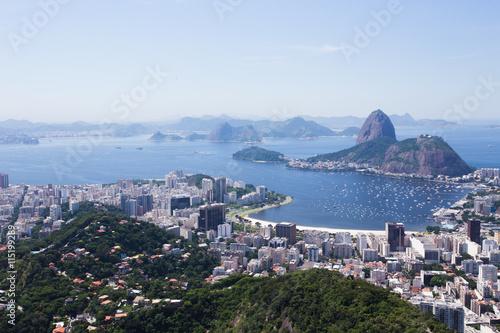 Poster view of the Rio de Janeiro