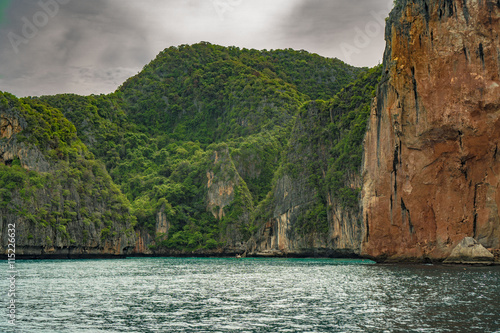 Poster Maya Bay, Phi Phi island, Thailand