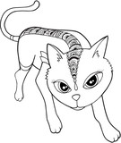 Cat Vector Illustration Art