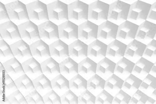 fototapeta na ścianę White Cube Background