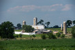 grain metallic silo in lancaster pennsylvania amish country