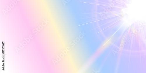Poster Purper 空 太陽 風景 背景