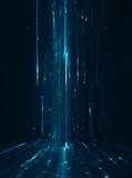 Abstract data stream matrix like background - 115308231