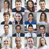 Multi Ethnic Adult Portraits
