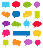 Speech Bubble Icons - 115336815
