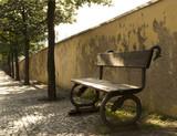 Old bench, Prague, Hradcany