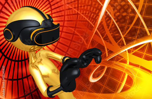 Virtual Reality VR Headset Glasses Goggles Device