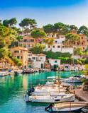 Idyllic view of the beautiful bay of Cala Figuera Majorca Spain - 115353473