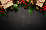 Fototapety Christmas or New Year background