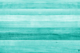 Fototapety Teal and turquoise green wood texture background