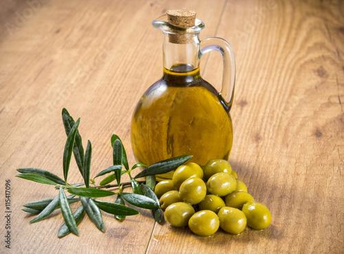 Foto Murales Aceite de oliva virgen extra