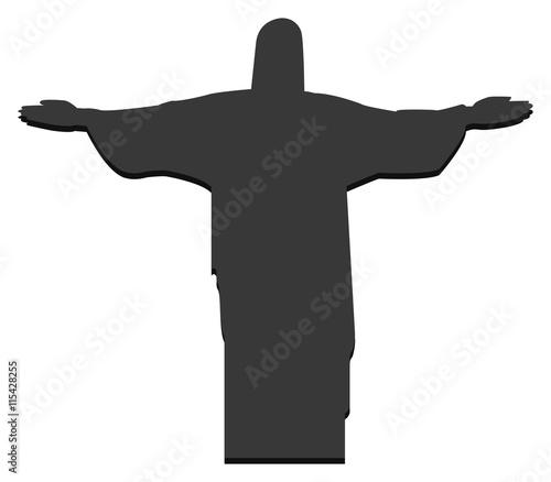 Zdjęcia na płótnie, fototapety, obrazy : christ redeemer in rio in brazil