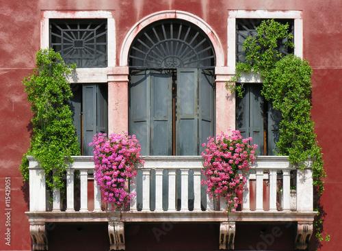 Zdjęcia Balkon in Venedig.