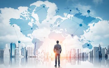 International business concept