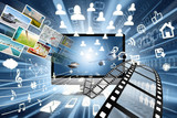 High speed of multimedia sharing concept
