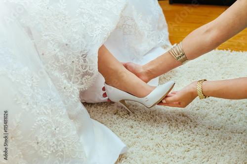 Plakat Wedding preparation