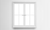 Modern window isolated - 115493896