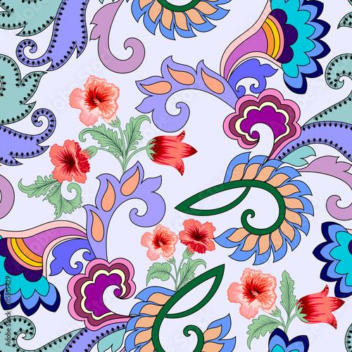jasny-wzor-z-streptokarpusy-paisley-i-kwiaty