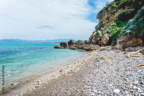 Gorgeous beach on Sicily