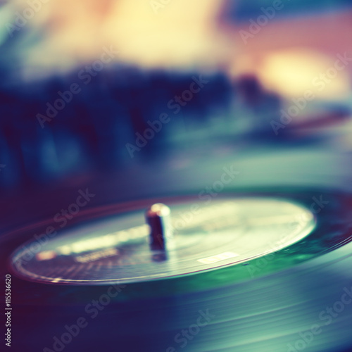 Poster Abstract music background