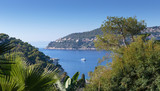 General view of the coast of the French Riviera near Nice
