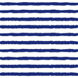 Striped Sailor Suit Seamless Pattern.