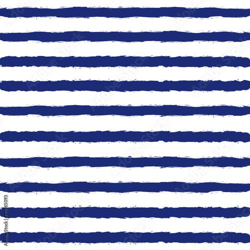 Cotton fabric Striped Sailor Suit Seamless Pattern.