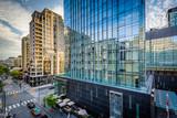 Fototapety Modern buildings along Yorkville Avenue in Midtown Toronto, Onta