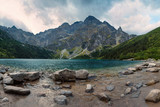 Morskie Oko lake in Tatra Mountains