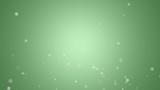 上昇する光_緑背景